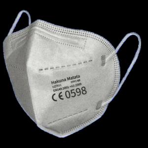 FFP2 Maske, schwarz, ab 0,75 EUR